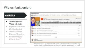 (BIld klicken für Audio-Beispiel aus dem Kursus)