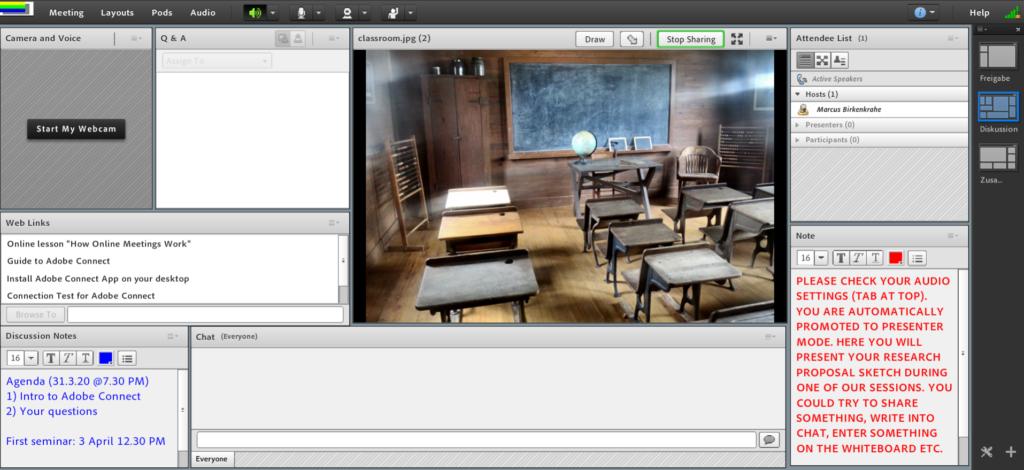 AC classroom